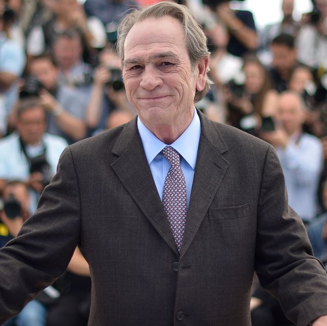 """us actor and director tommy lee jones poses during a photocall for the film """"the homesman"""" at the 67th edition of the cannes film festival in cannes, southern france, on may 18, 2014      afp photo  alberto pizzoli        photo credit should read alberto pizzoliafp via getty images"""