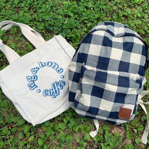 Product, Textile, Bag, Pattern, Plaid, Shopping bag, Tartan, Luggage and bags, Tote bag, Design,