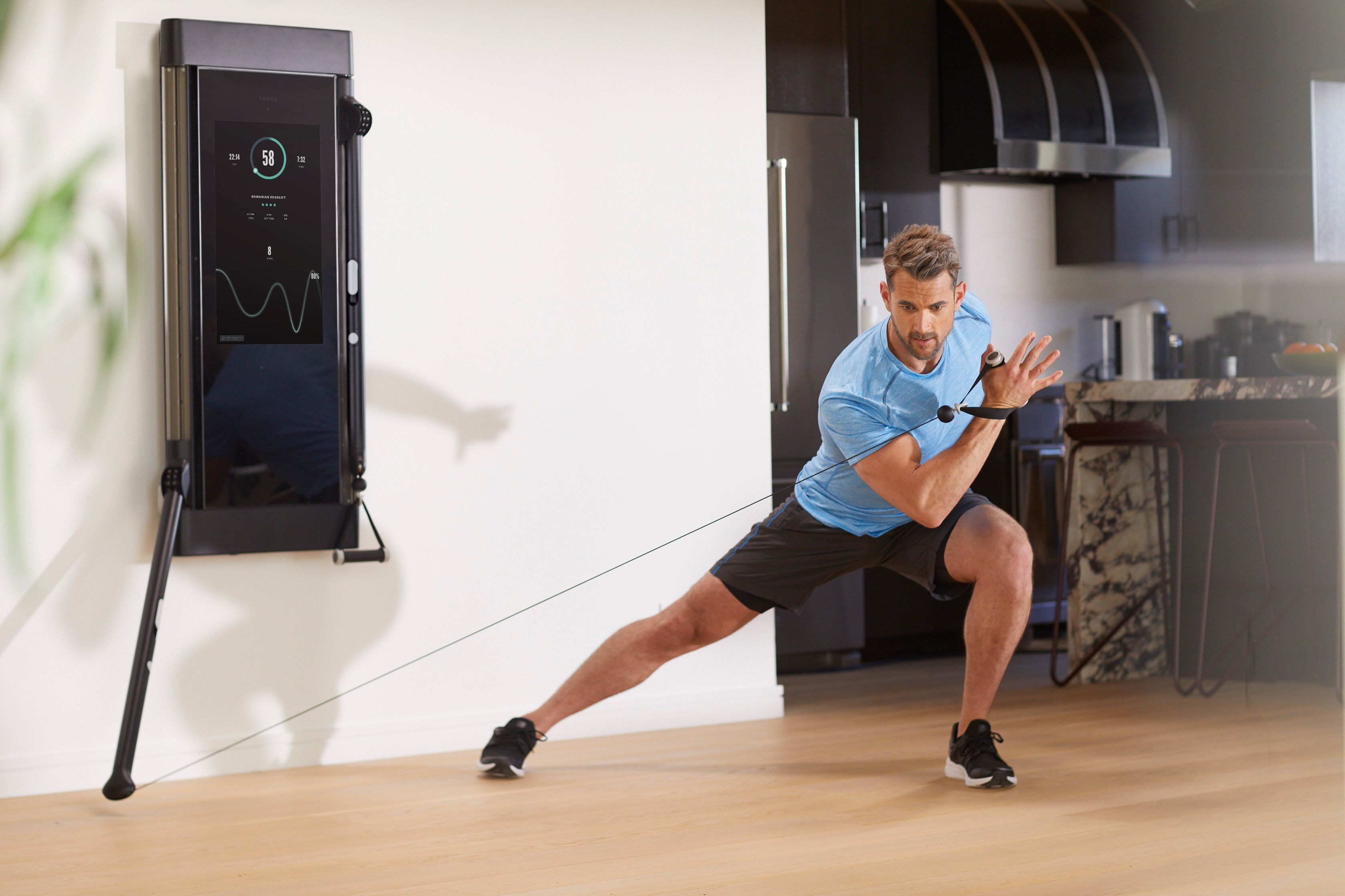 Get Ready for the Smartest Home Gym You've Ever Seen