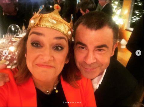 Toñi Moreno, Cena Navidad Telecinco