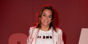 Toñi Moreno en la 'MBFW'