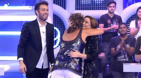 Rosana, Toñi Moreno, El concurso del año, El concurso del año especial, Rosana y Toñi Moreno, Toñi Moreno embarazada