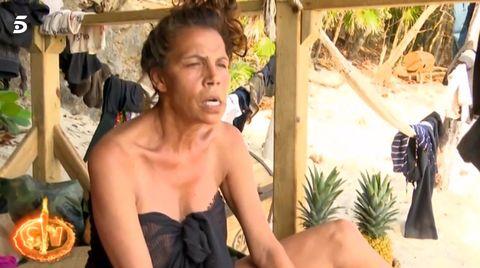 Toñi Salazar saca lo peor de sí misma por culpa de un coco