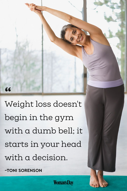 weight loss motivation statements
