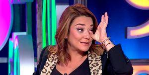 Toñi Moreno emocionada