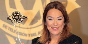 Toñi Moreno embarazada premios Iris
