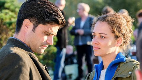 Oona-Devi Liebich y Maximilian Grill en 'Tonio y Julia:Promesas incumplidas'