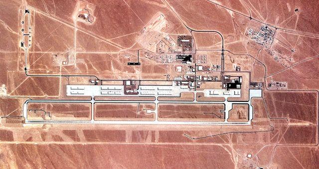 Hmm, the Secretary of Defense Just Visited America's Secret 'Area 52'