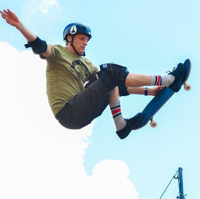 el truco imposible del skater tony hawk ¡un 720 a los 52 años