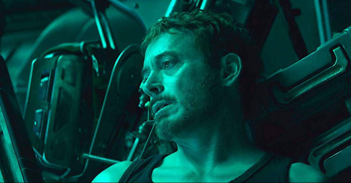'Vengadores: Endgame': Escena Muerte Tony Stark Sin Guion