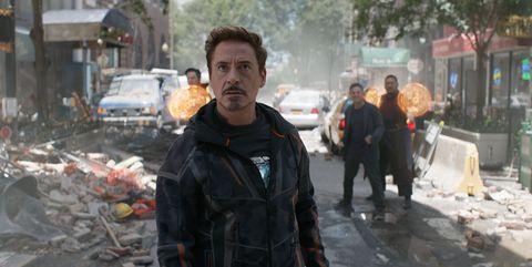 Tony Stark vengadores infinity war
