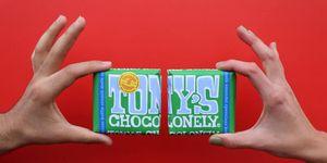Bij Tony's Chocolonely stel je nu je eigen chocoladereep samen
