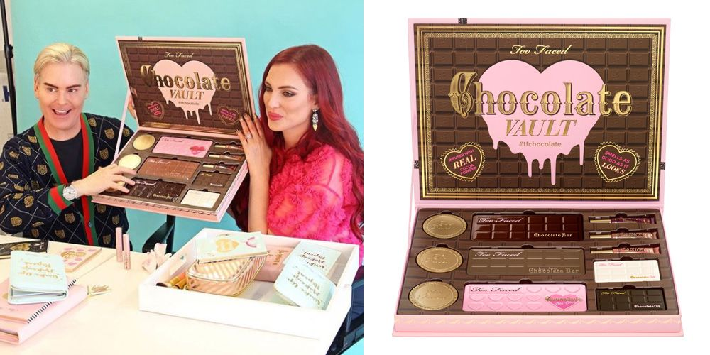 Too Faced's Sold Out Chocolate Makeup Vault is Finally Available Again