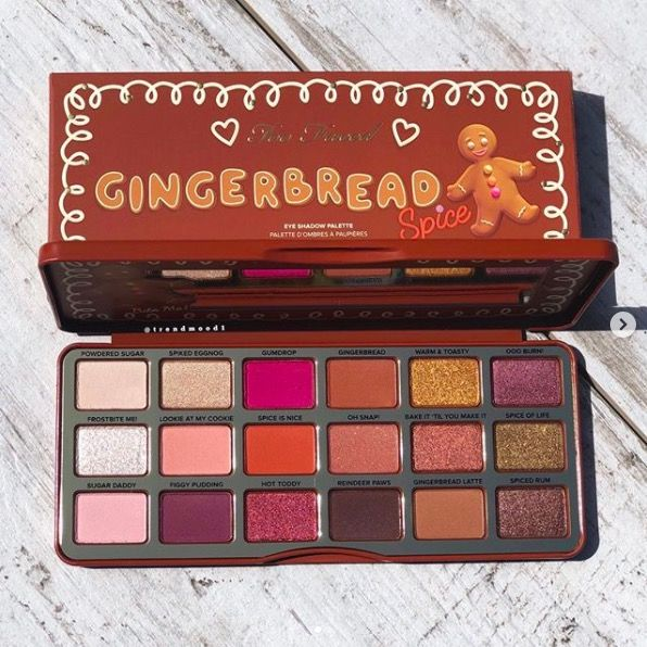 Too Faced Gingerbread Spice Eyeshadow Palette Too Faced is