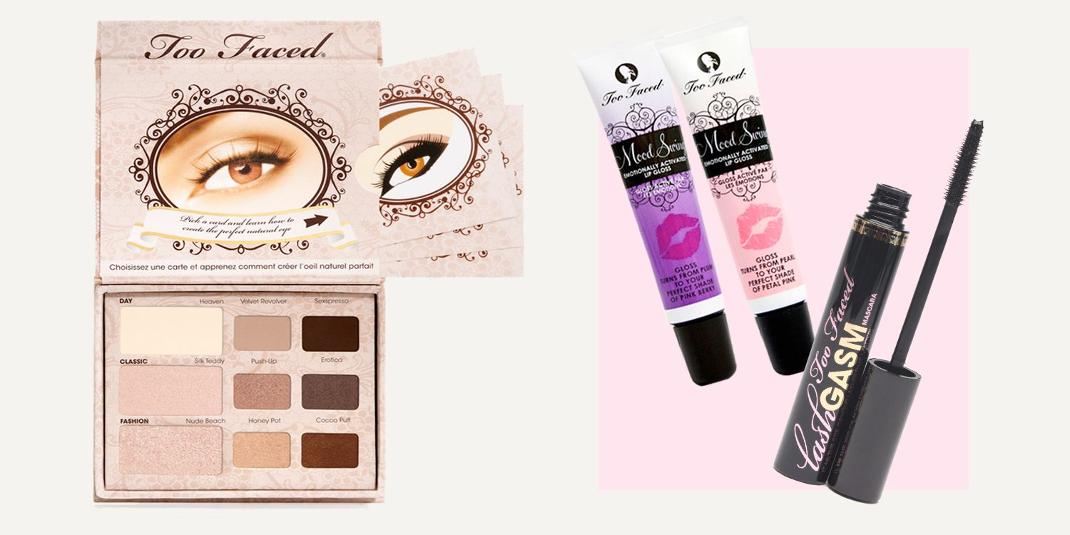 Too Faced throwback products