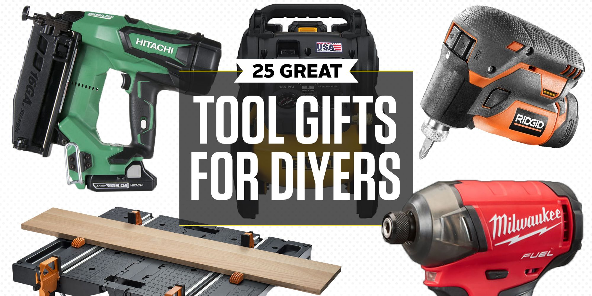 25 Best Gifts for Mechanics DIY Tool Gifts for Christmas 2017