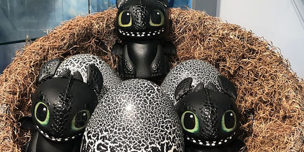 This Hatching Baby Toothless Will Get Your Child One Step