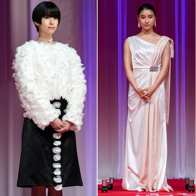 Human body, Formal wear, Suit, Dress, Fashion, Purple, Black hair, Carpet, Blazer, Fur,