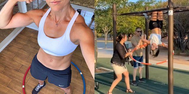 公共の場でのスポーツブラは「卑猥」に賛否両論! 「体を隠すべき」運動中の女性と公園を利用していた女性がバトル