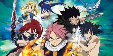 top 10 animes sobrevalorados fairy tail