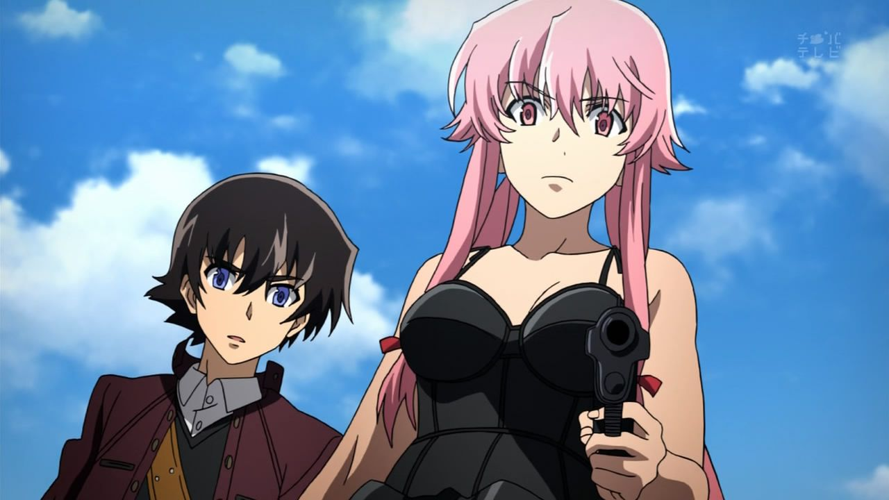 top 10 animes sobrevalorados future diary