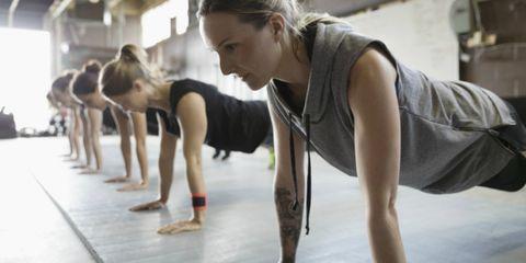 Oefeningen met lichaamsgewicht