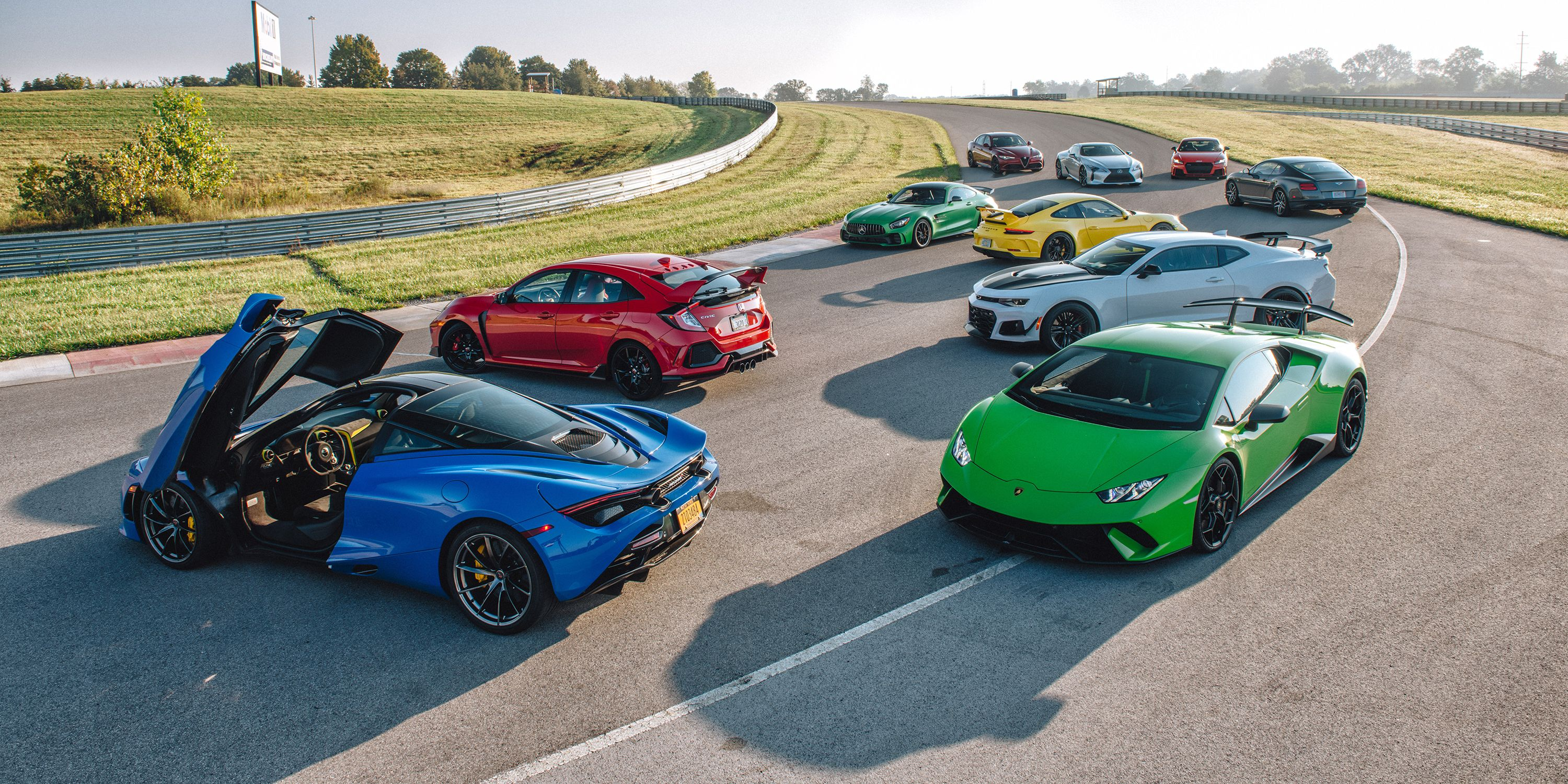 2018 Performance Car Of The Year   2018 McLaren 720S Named Road U0026 Tracku0027s  PCOTY