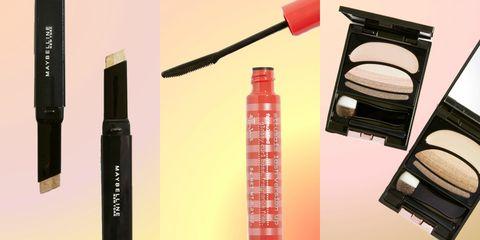 Cosmetics, Beauty, Product, Eye liner, Eye, Eye shadow, Lipstick, Mascara, Material property, Lip gloss,