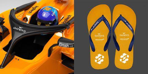 696429c26e0ea McLaren Got a Flip Flop Sponsor for the Halo