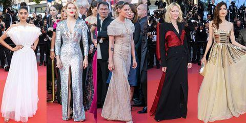 Red carpet, Carpet, Clothing, Dress, Premiere, Event, Gown, Flooring, Fashion, Haute couture,