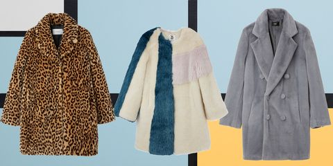 Clothing, Outerwear, Overcoat, Fur, Coat, Fur clothing, Clothes hanger, Textile, Sleeve, Jacket,