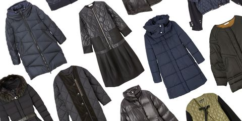 Black, Clothing, Outerwear, Pattern, Jacket, Leather, Coat, Glove,