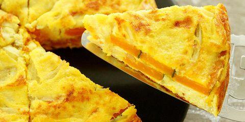 Dish, Food, Cuisine, Baked goods, Ingredient, Quiche, Zwiebelkuchen, Flamiche, Tortilla de patatas, Pastry,