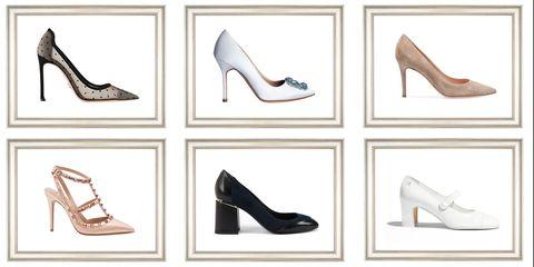 Footwear, High heels, Shoe, Court shoe, Basic pump, Leg, Font, Dancing shoe, Bridal shoe,