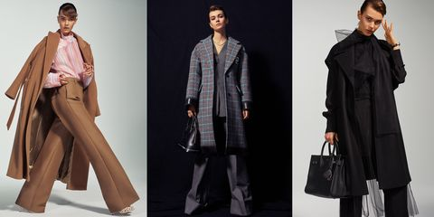 Clothing, Overcoat, Coat, Outerwear, Fashion model, Trench coat, Fashion, Duster, Sleeve, Formal wear,