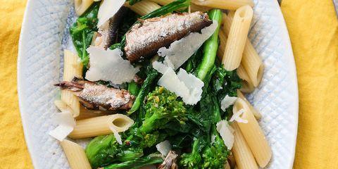 Penne, Food, Dish, Cuisine, Ingredient, Comfort food, Vegetable, Leaf vegetable, Produce, Rigatoni,