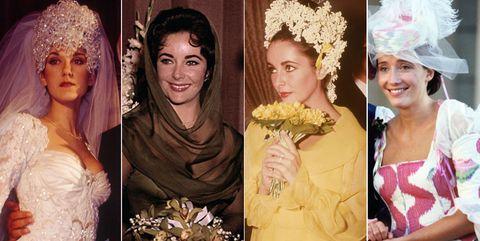 Hair, Headpiece, Hair accessory, Yellow, Headgear, Fashion accessory, Tiara, Dress, Flower, Bride,