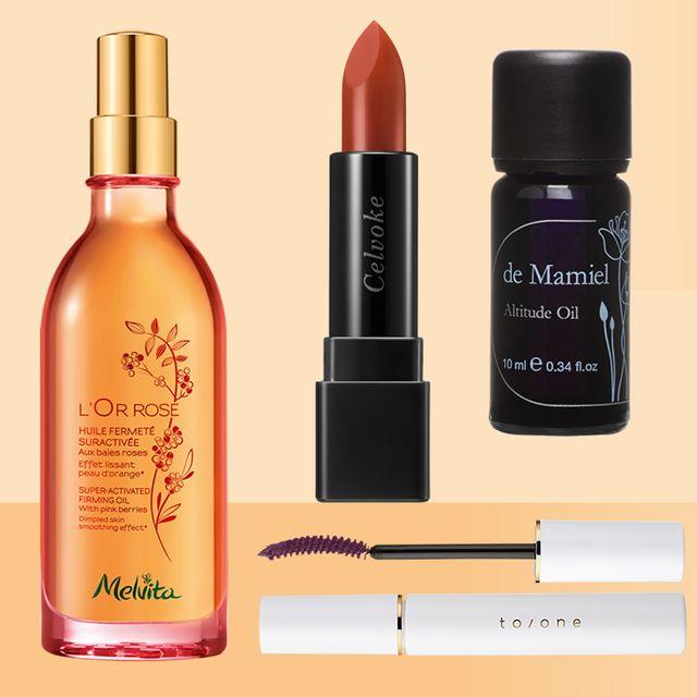 Product, Cosmetics, Beauty, Liquid, Water, Beige, Material property, Lipstick, Brand, Eye liner,