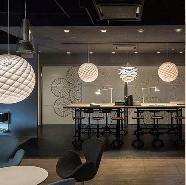 Interior design, Building, Property, Room, Ceiling, Lighting, Architecture, Floor, Design, Furniture,