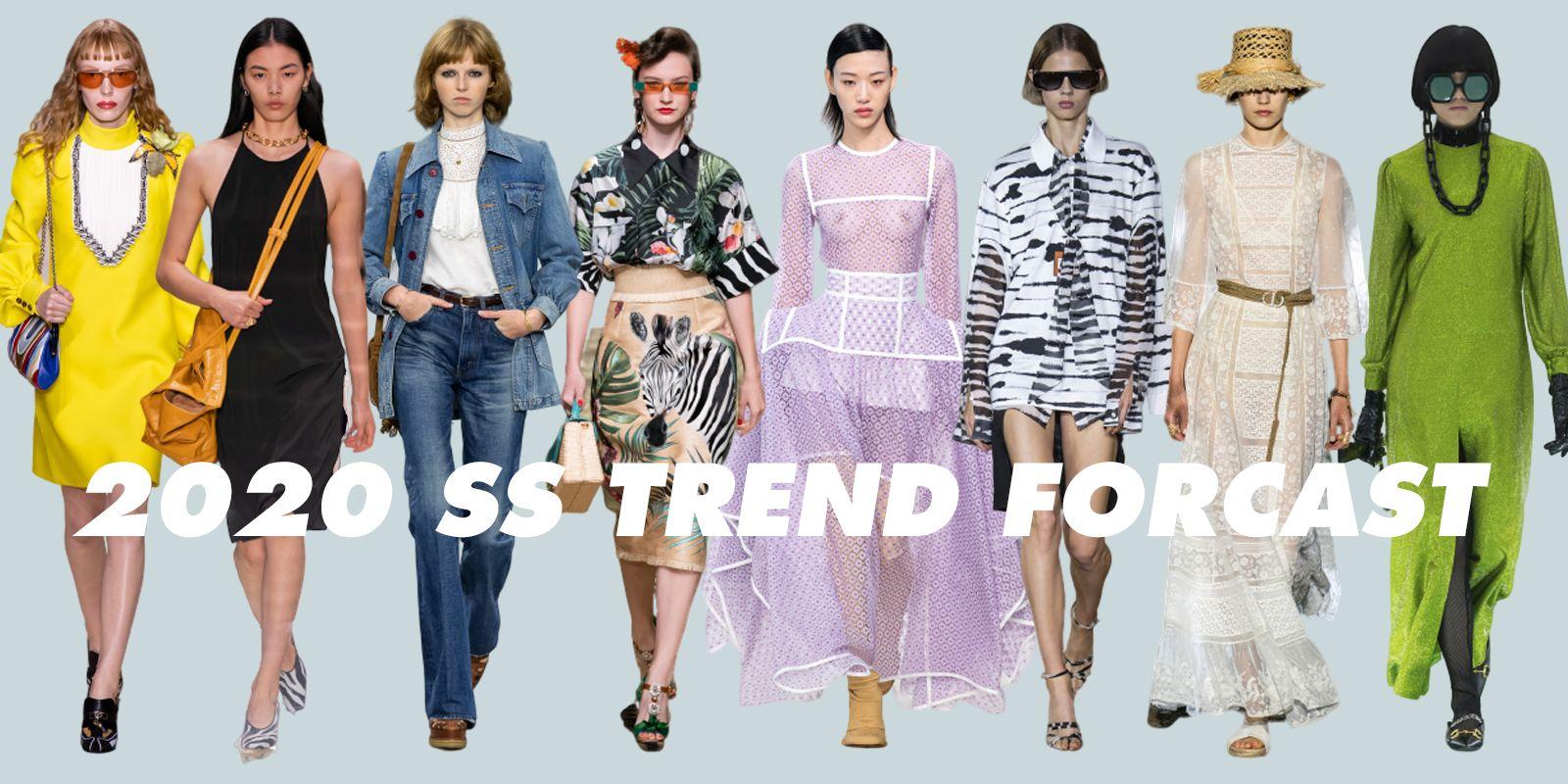 2020春夏トレンド】エディターが予測する10のファッションキーワード