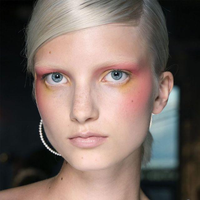 Face, Hair, Nose, Eyebrow, Cheek, Chin, Forehead, Skin, Hairstyle, Blond,