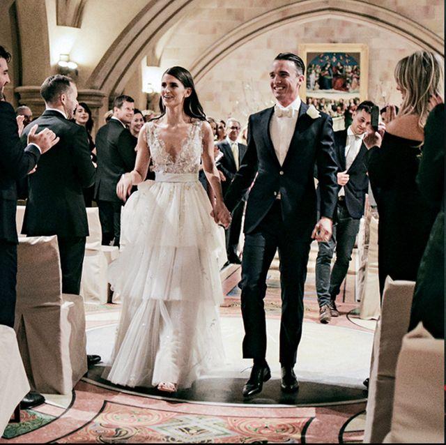 Photograph, Wedding ceremony supply, Wedding dress, Dress, Fashion, Victorian fashion, Wedding cake, Bride, Bridal clothing, Gown,