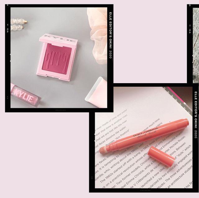 Pink, Red, Beauty, Lip, Orange, Material property, Cosmetics, Lipstick, Lip gloss, Peach,
