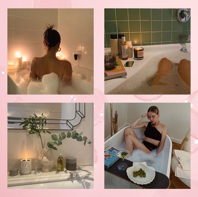 ホテルみたいなお風呂にうっとり♡ セレブの豪華バスルームを拝見&お家でマネできるおしゃれアイディア術