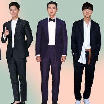 韓國男星 西裝排名