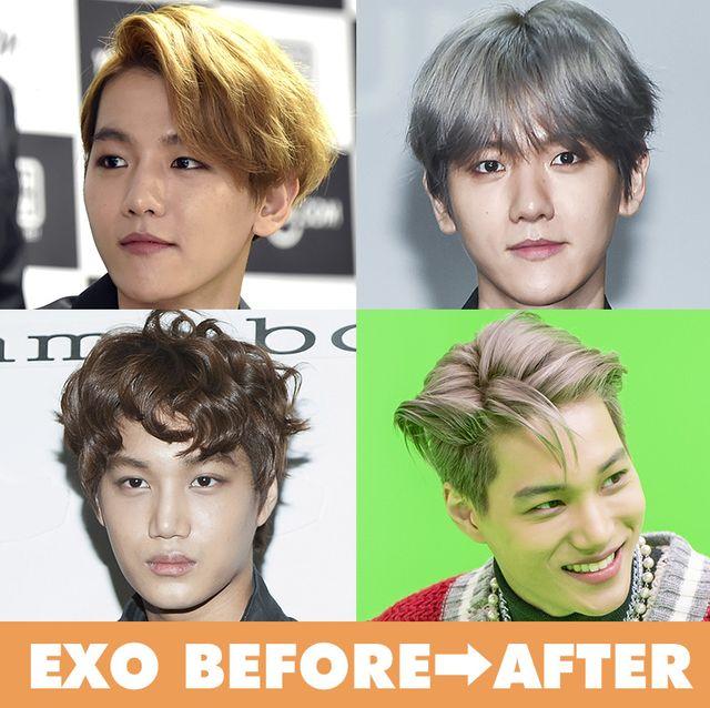 exo(エクソ)メンバーの変遷を徹底比較! ファッション/ヘア/メイクをbefore→afterでイッキ見