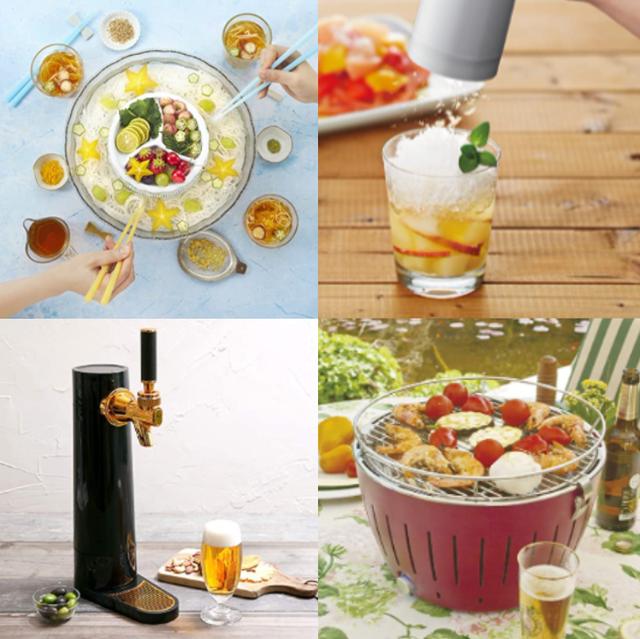 家飲みに人気の、おしゃれで便利な「居酒屋家電」24選 おいしいおつまみやお酒をご自宅で