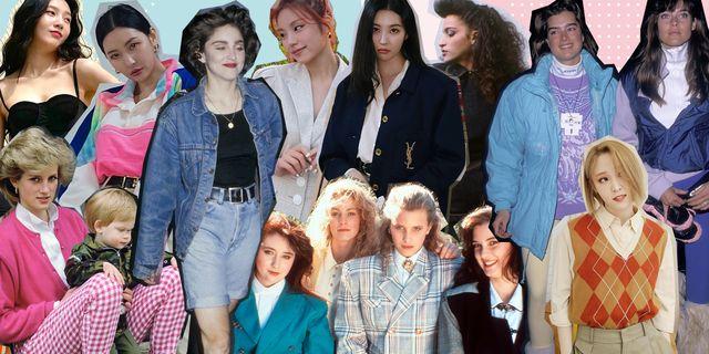 1980年代ファッションがリバイバル! 韓国アイドルもハマる特徴/おしゃれな着こなし術/レディースにおすすめのブランドを徹底解剖
