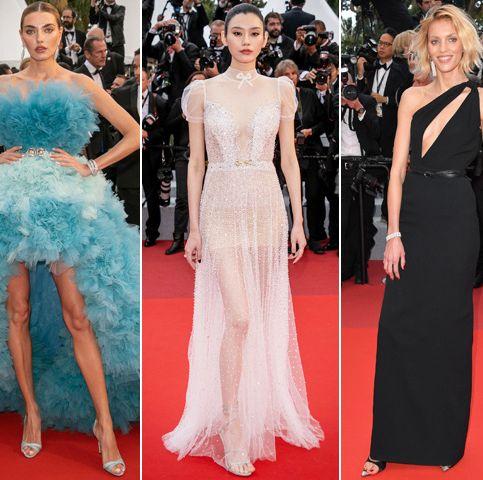 Red carpet, Dress, Fashion model, Clothing, Carpet, Gown, Shoulder, Flooring, Fashion, Haute couture,