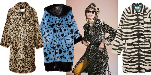 Clothing, Outerwear, Fur, Fashion, Fur clothing, Sleeve, Coat, Street fashion, Dress, Overcoat,